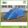 2 persone 2 mette a strati la tenda di campeggio dei 3 Pali con l'estensione