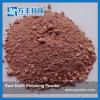 Pó de polir vermelho da Terra Rare com D50 2,8 micron