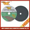 Roue mince abrasive de découpage de qualité professionnelle de disque de découpage