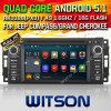 Auto DVD des Witson Android-5.1 für Jeep-Kompaß (W2-F9509C)
