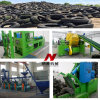 Verwendetes LKW-u. Autoreifen-Abfallverwertungsanlage/Gummireifen, der Gerät aufbereitet
