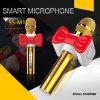 Microphone portatif de Bluetooth de microphone sans fil tenu dans la main mobile de microphone de Condensador mini avec le haut-parleur pour l'iPhone androïde