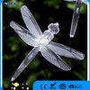 ABS, éclairage solaire de chaîne de caractères de panneau du fil DEL du matériau 2.8m de picoseconde