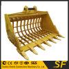 Cubeta nova do esqueleto da máquina escavadora da largura de Sf PC200 1900mm