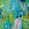 Abstract Olieverfschilderij (CX-021)