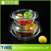Casserole e Cake di vetro Pan Set (GCB-201212)