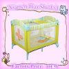 2014年の工場価格の新生のベビーベッドのベッドのEn71によって折られる赤ん坊のベビーサークルの赤ん坊のまぐさ桶旅行折畳み式ベッド(BP-040)