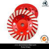 Marble/Concrete/Granite Polishing를 위한 100mm Diamond Grinding Wheel