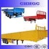Side Wall를 가진 Three-Axis Truck Trailer/Cargo Semi Trailer