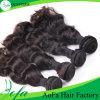 A extensão humana malaia inferior cheia bonita do cabelo do Virgin de Remy