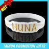 Bracelet de silicones rempli par couleur spéciale de Debossed de qualité (TH-08853)