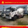 Dimensions diesel de camion de mélangeur de /Concrete de camion de /Mixer de camion de la Chine Cdw