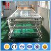 Un paño de tela sublimación textil de la máquina de transferencia de calor RODILLO rodillo