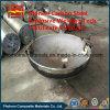 Tête ellipsoïdale en tôle d'acier titane pour échangeur de chaleur à récipient sous pression