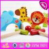 2015 Nouveau jeu de golf Cute Kids Toy, charmant jouet en bois de conception d'animaux voiturette de golf pour les enfants, terrain de golf de drôles de qualité supérieure en bois jouet W01A066
