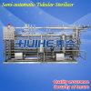 Dampf Heating Tubular Pasteurizer Sterilizer für Juice