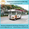 Привлекательная передвижная тележка еды доставки с обслуживанием с вполне варя оборудованием