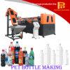 2017 máquinas semi automáticas del moldeo por insuflación de aire comprimido de la botella del animal doméstico