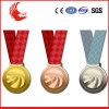 Изготовленный на заказ дешевый проштемпелеванный металл резвится медаль