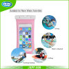 Resistente al agua IPX8 de alta calidad Funda de PVC de teléfono, Teléfono móvil bolsa impermeable para regalo promocional
