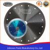 scherpe Blad van het Graniet van het Blad van de Zaag van 110mm230mm het Hete Pers Gesinterde Turbo