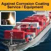 輸送箱/海兵隊員のための腐食の塩のErrosionの反のための高い牽引のコーティングはコーティング装置/サービスに吹きかける貨物を出荷する