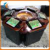 カジノ装置の自動販売機の金属のルーレットの回転ゲーム表