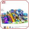Крытые скольжения для структур игры Playrooms малышей крытых для зон игры малышей крытых