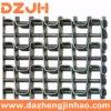Un fil plat courroies de transport avec les courroies de treillis métallique en acier inoxydable