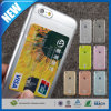 Мягкий шлиц случая TPU 2 карточек на iPhone 6