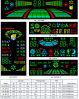 Module d'affichage à LED/Caractères lumineux/module luminescent