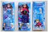 11  bonecas congeladas polegada, rainha de Elsa, princesa de Anna, bonecas do brinquedo