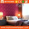 Papier de mur en gros de chambre à coucher de papier peint d'hôtel pour la décoration