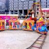子供の娯楽は象様式の電車に乗る