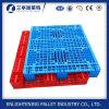 Palette en plastique perforée simple en gros pour la crémaillère et la mémoire