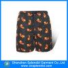 Shorts della scheda del poliestere di svago stampati modo all'ingrosso degli uomini