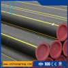 Tuyauterie en plastique de polyéthylène de Pn16 PE100 pour la fourniture de gaz