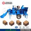 M7mi Hydraformの移動式粘土の小企業のための製造業者に値を付けさせる機械機械装置に連結の連結の構築の建築材料の煉瓦ブロック