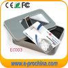 Kundenspezifischer Firmenzeichen-Visitenkarte-Speicher-Platte USB-greller Stock (EC003)
