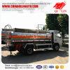 Wielbasis 3300mm 5000 Liter tankt Tankwagen voor Saudi-Arabië bij