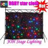 Joh LED Stern-Trennvorhang RGBW sondern Stern-Tuch der Farben-LED aus