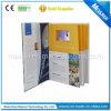 Gebundene Ausgabe Promotion Advertizing LCD Video Greeting Card für Business