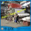 La máquina crescent de la fabricación de papel de tejido con la pulpa que hace la línea de recicla los materiales