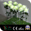 Simulation LED White Rose Flower Light