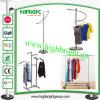 Kleidung-Speicher-Bildschirmanzeige-Zahnstangen-Kleid-Schiene