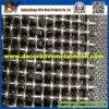 Alta rete metallica unita decorativa dell'acciaio di manganese