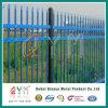 강철에 의하여 용접되는 장식적인 말뚝 울타리 또는 직류 전기를 통한 말뚝 용접 메시 담