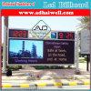 Fabricante de China de cartelera al aire libre de la visualización de LED P10
