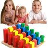 خشبيّة تربويّ [مونتسّوري] عيد ميلاد المسيح هبة هندسيّة بناية قوالب أطفال لعب