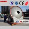 Granulador del disco para la cadena de producción de cerámica de la arena